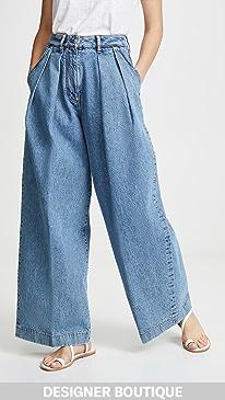 d0c7a1be39e51c Acne Studios. Pakita Blue Trousers