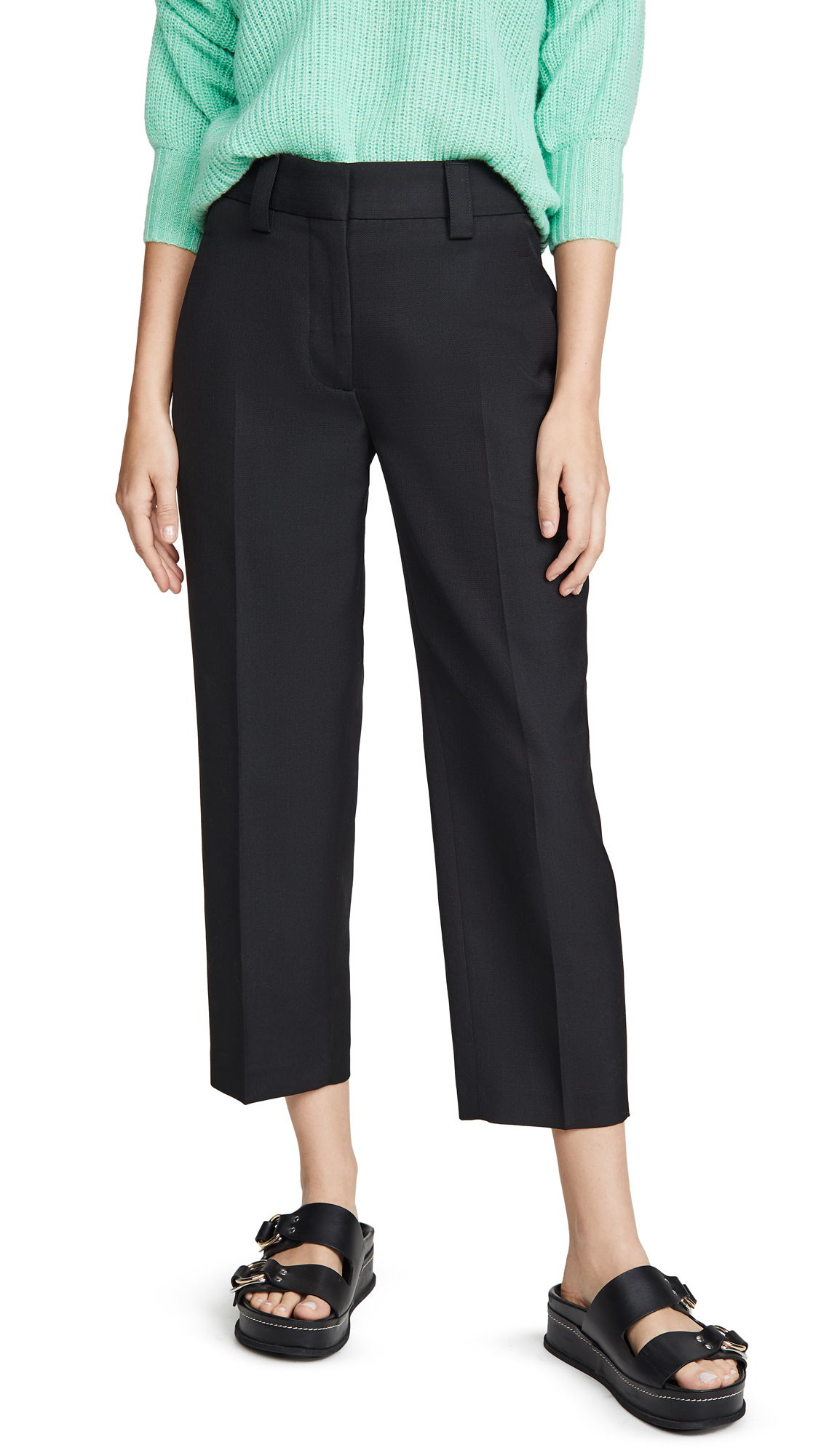 Acne Studios Suiting Trousers - Black