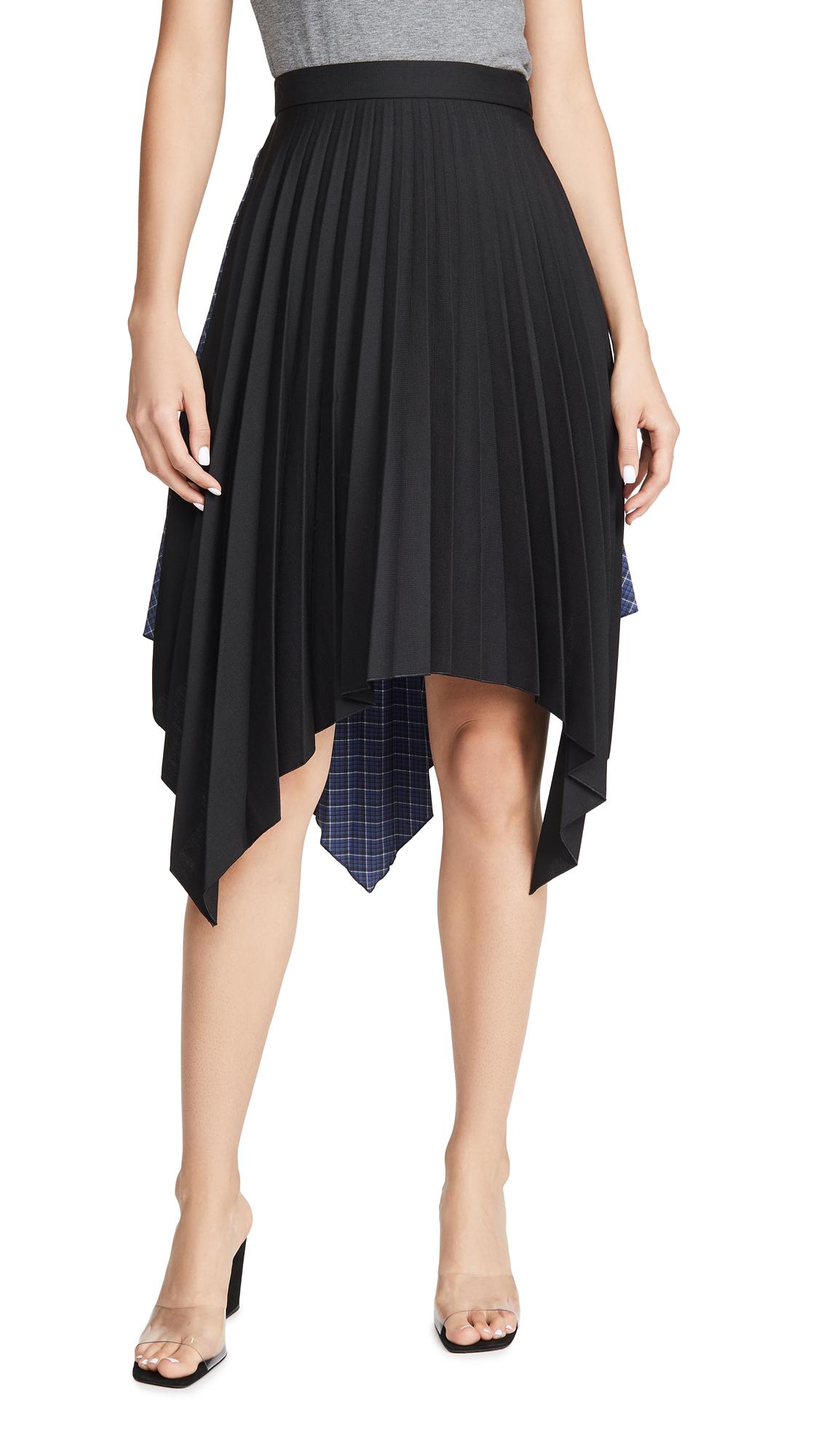Acne Studios Ilsie Bico Suiting Skirt - Black