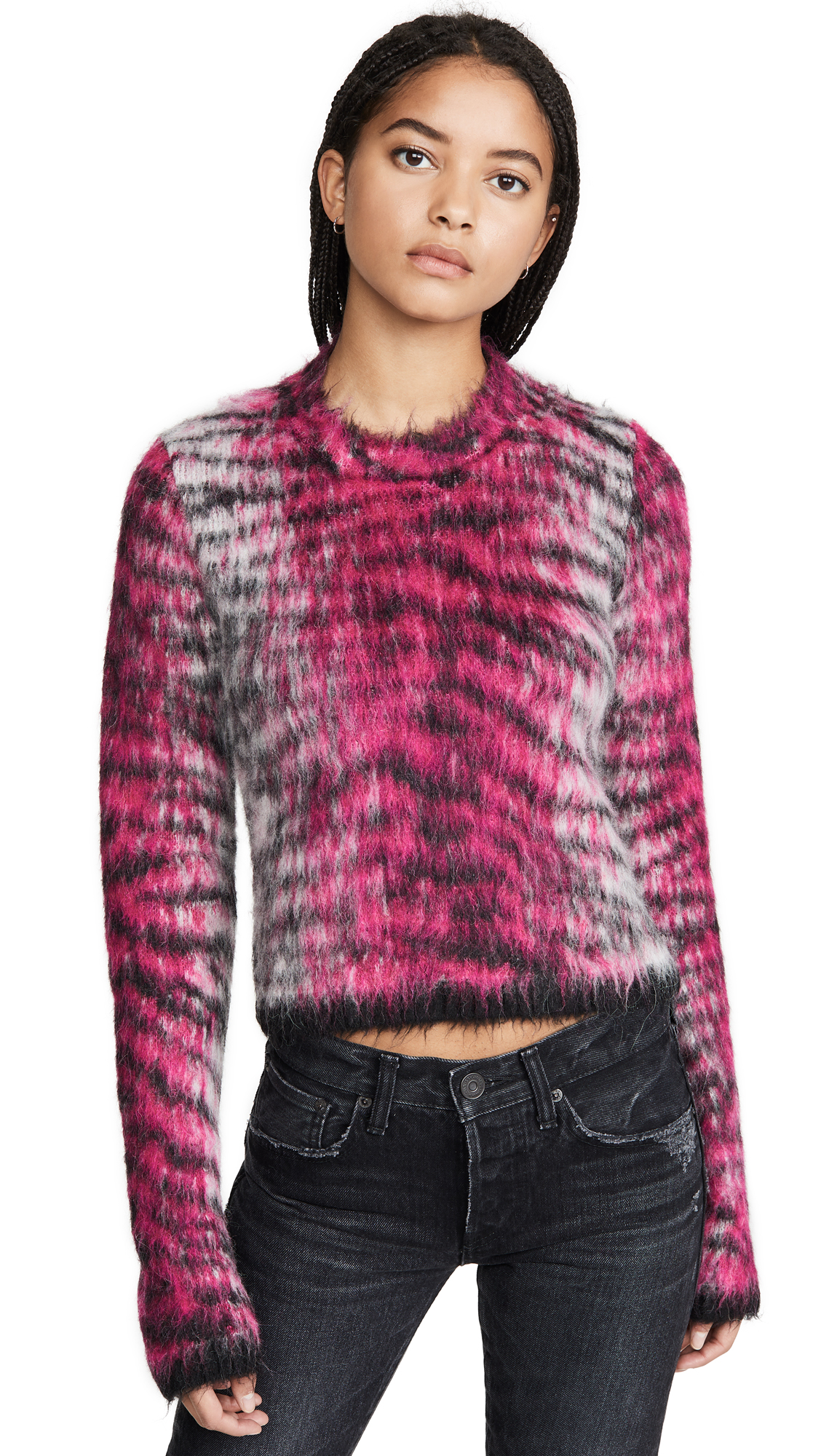Buy Acne Studios online - photo of Acne Studios Khangyu Brushed Alpaca Sweater