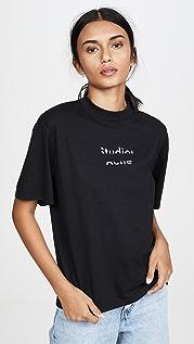 Acne Studios Elyssa 徽标 T 恤