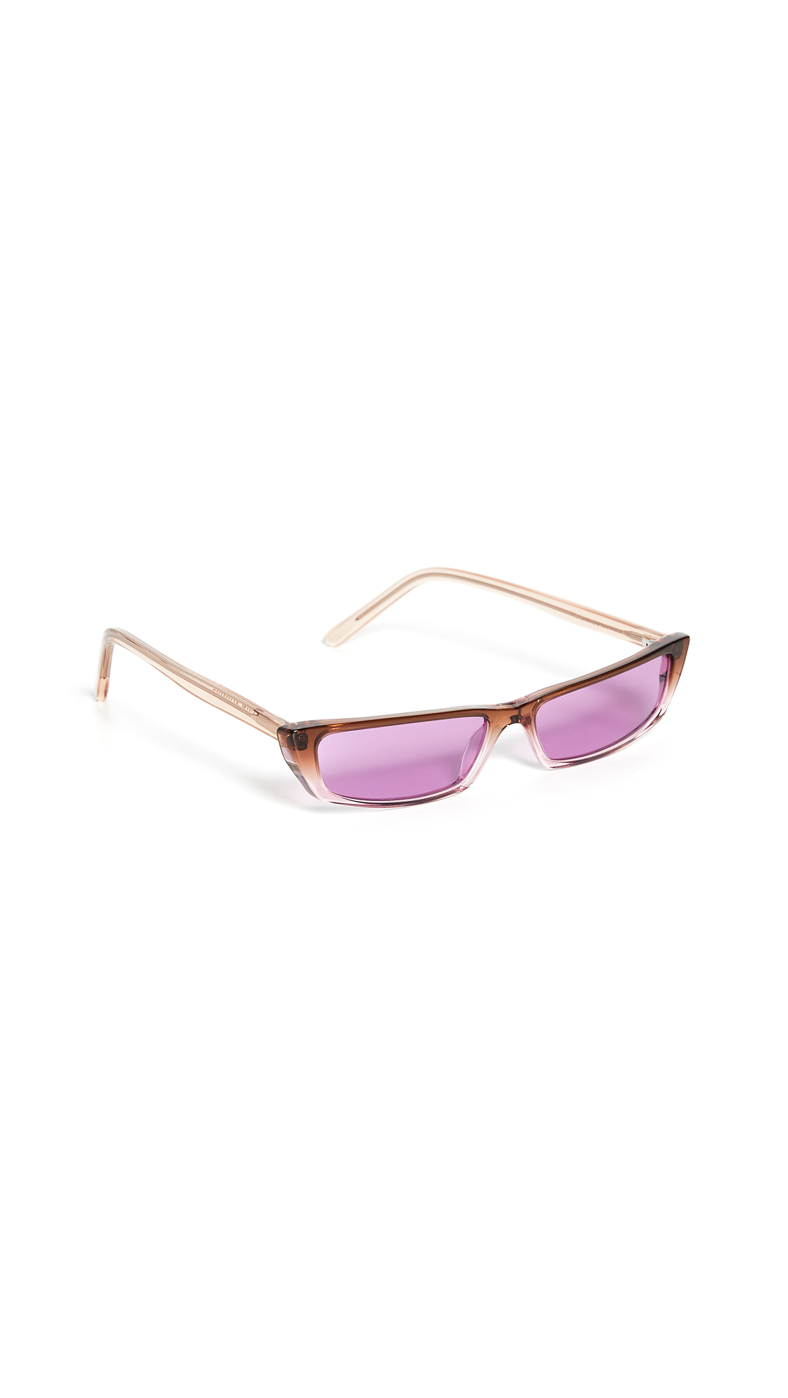 Acne Studios Agar Eyewear - Brown/Purple