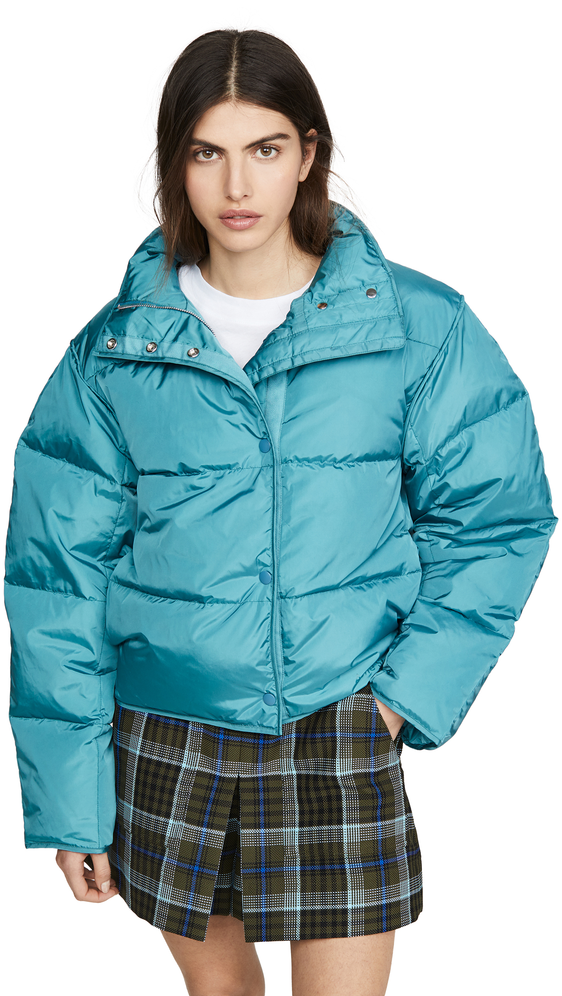 Buy Acne Studios online - photo of Acne Studios Oliviera Tech Down Puffer