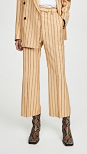 Acne Studios Patrina 细条纹长裤