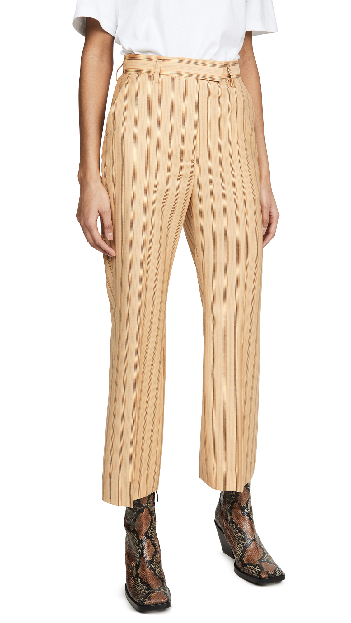 Buy Acne Studios online - photo of Acne Studios Patrina Pinstripe Trousers