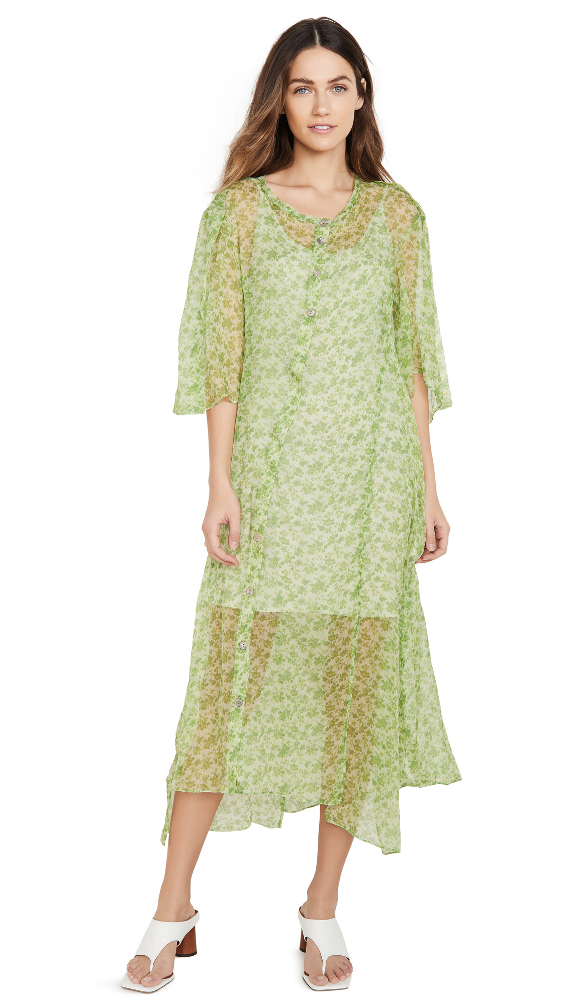 Buy Acne Studios Dagny Chiffon Dress online beautiful Acne Studios Clothing, Dresses
