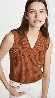 Acne Studios Kandra Rustic Cotton Sweater Vest