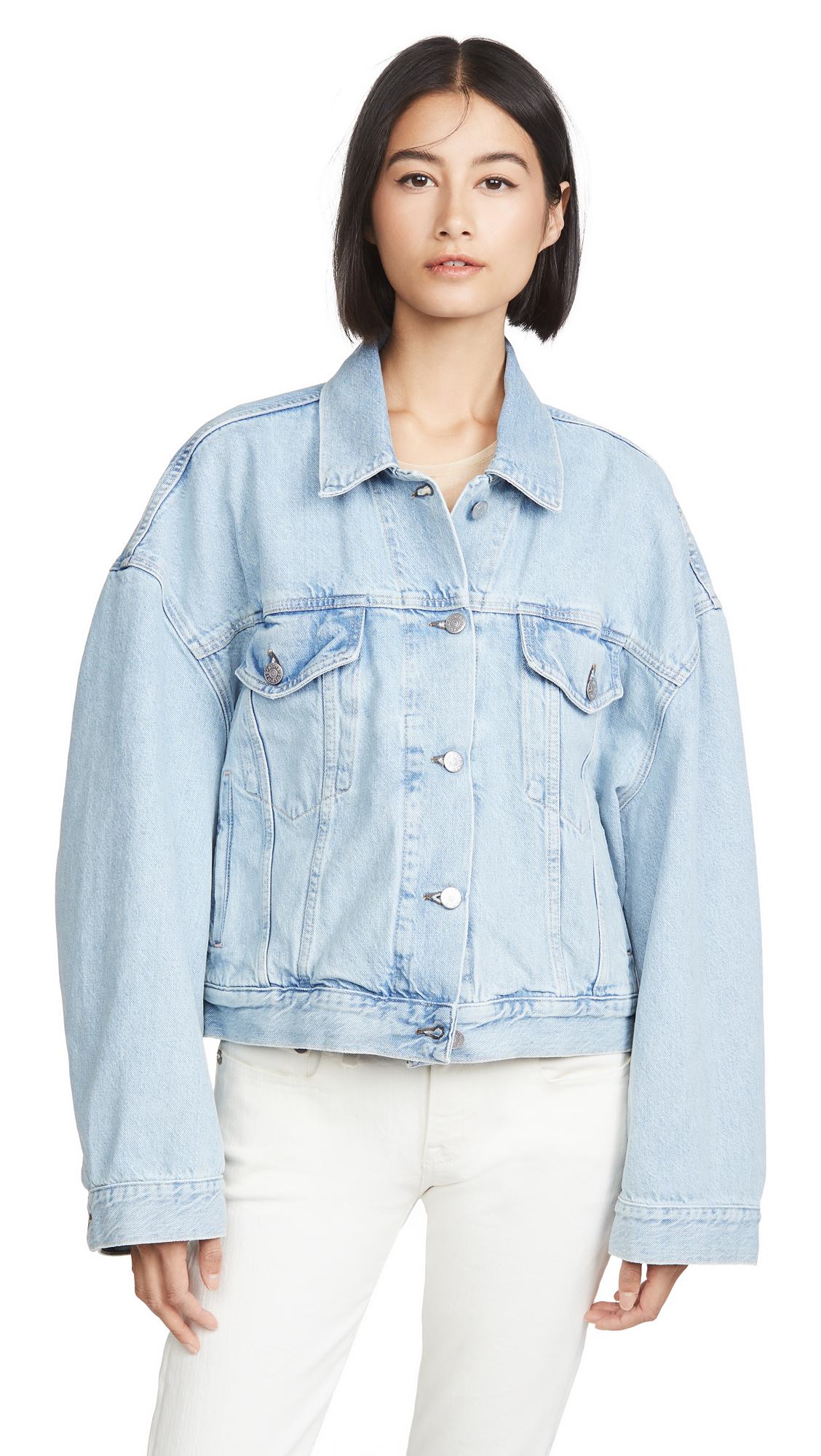 Buy Acne Studios Morris Cropped Blonde Jacket online beautiful Acne Studios Clothing, Jackets