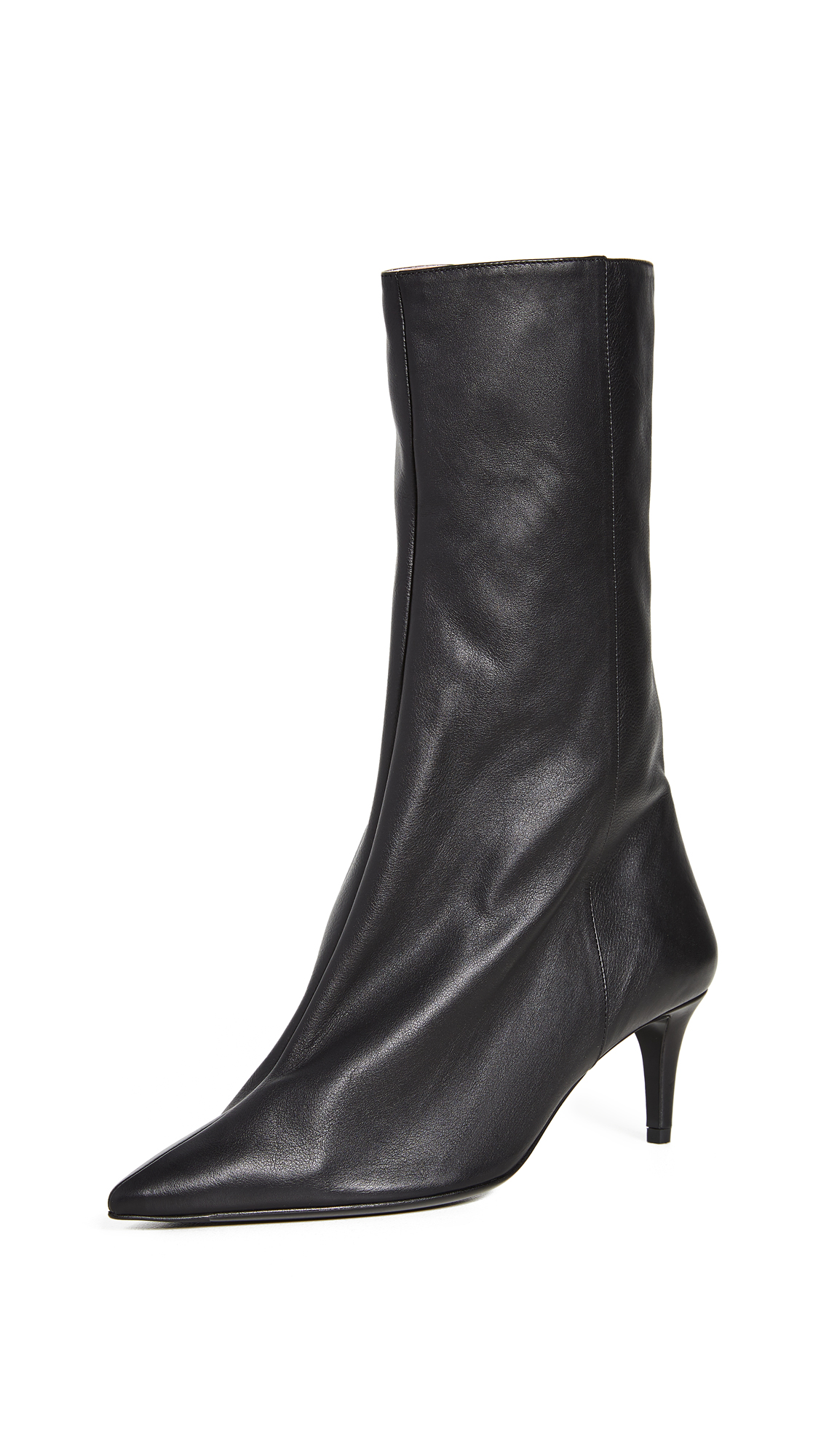 Buy Acne Studios Leather Ankle Boots online, shop Acne Studios
