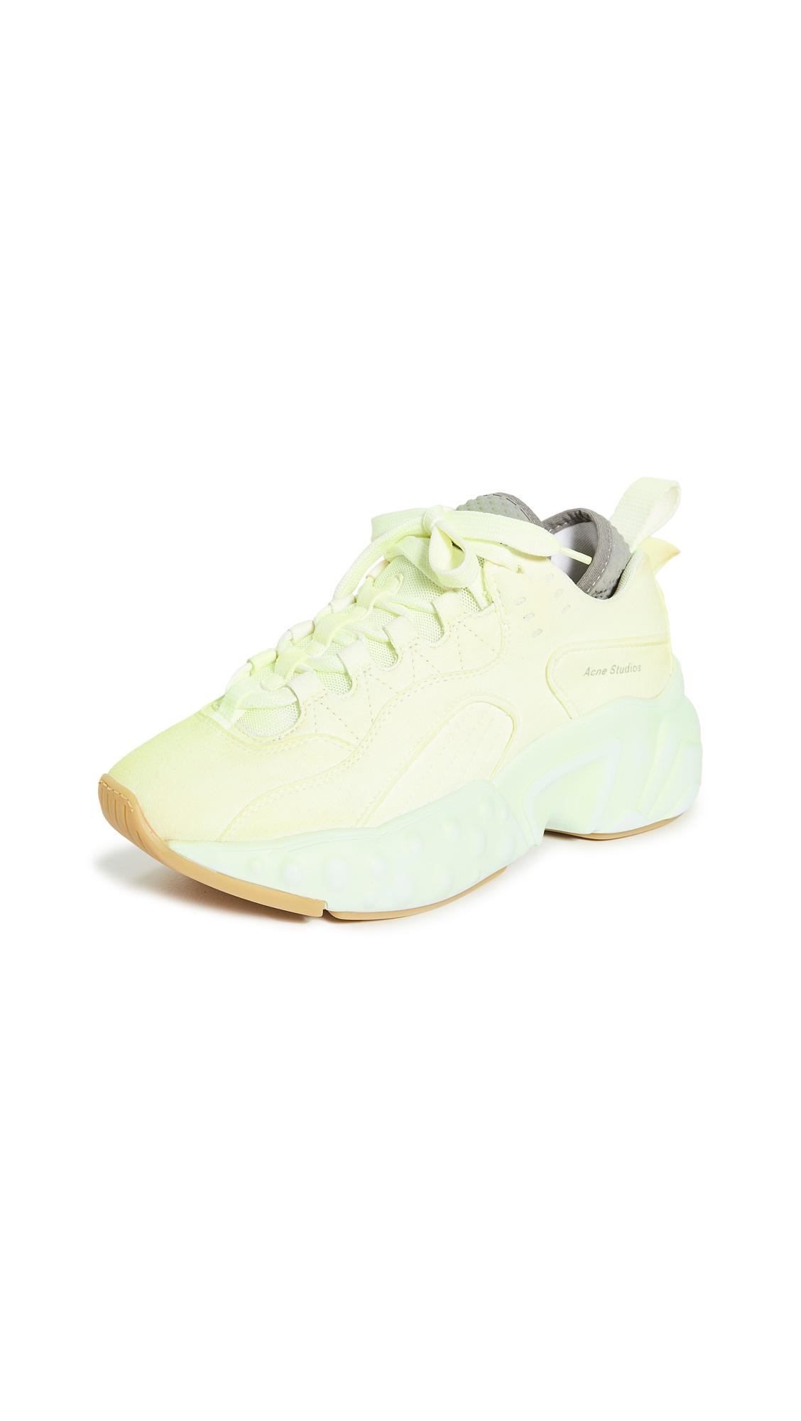 Buy Acne Studios Manhattan Overdyed Sneakers online, shop Acne Studios