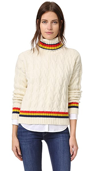 &Daughter Cricket Roll Neck Sweater - Ecru at Shopbop