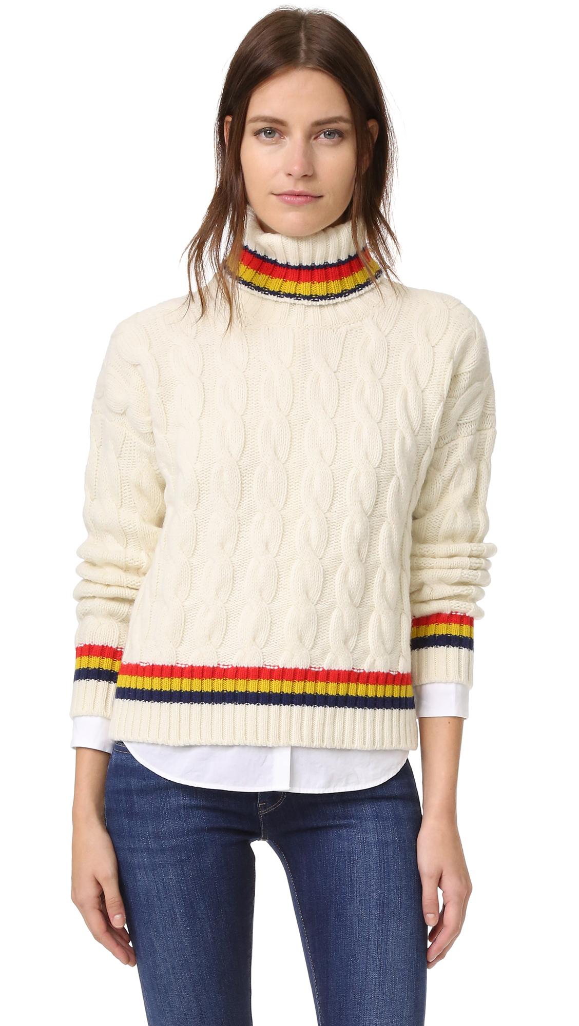 &Daughter Cricket Roll Neck Sweater - Ecru at Shopbop