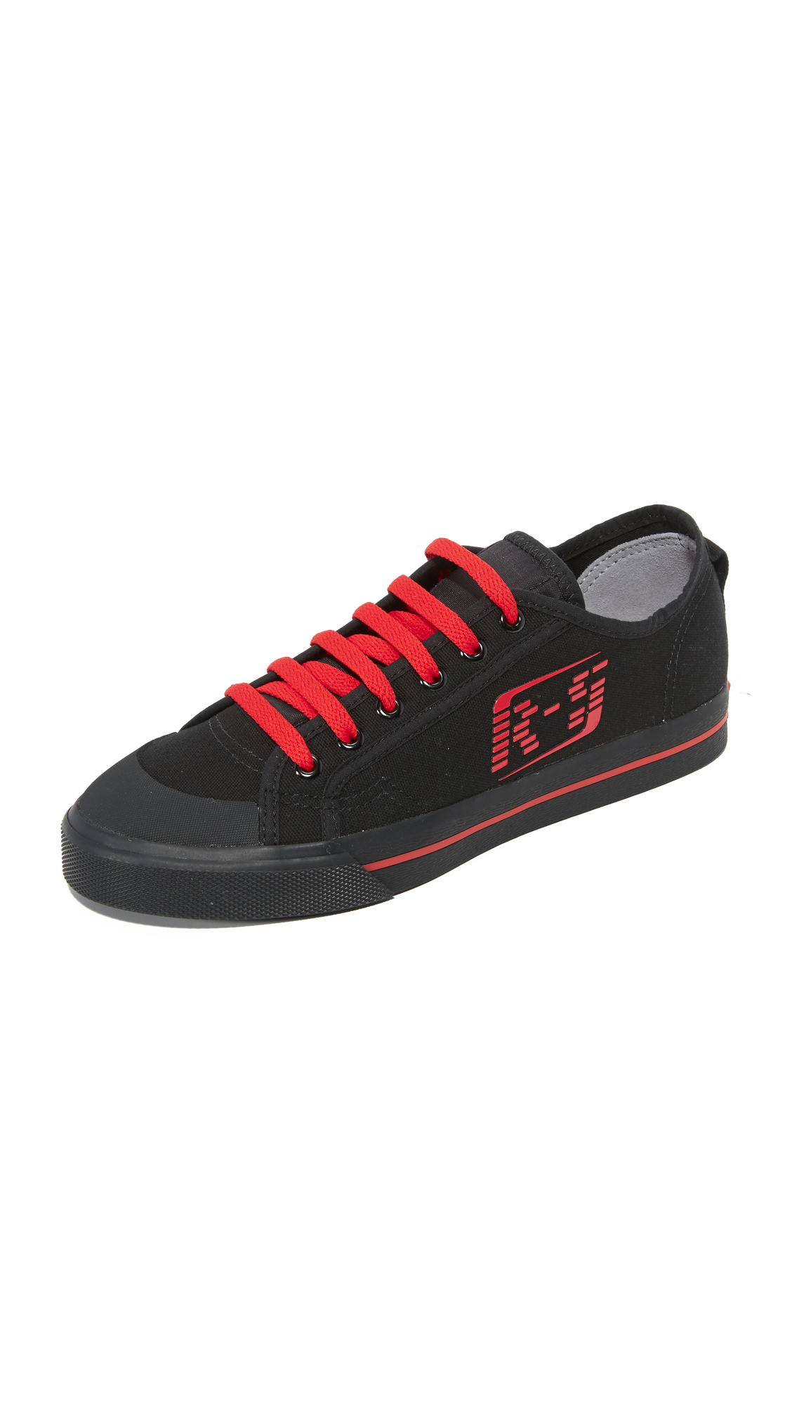 Adidas Raf Simons Matrix Spirit Sneakers - Black/Tomato/Black at Shopbop