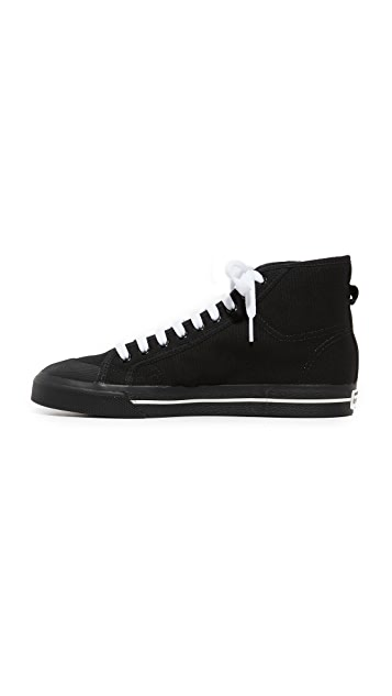 Adidas Raf Simons Matrix Spirit High Top Sneakers