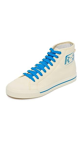 Adidas Adidas X Raf Simons Matrix Spirit High Top Sneakers - Mist Sun/Bright Blue/Mist Sun at Shopbop
