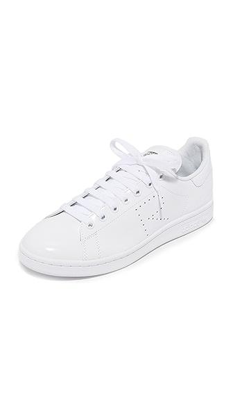 Adidas Raf Simons Stan Smith Sneakers - White/Black/White at Shopbop
