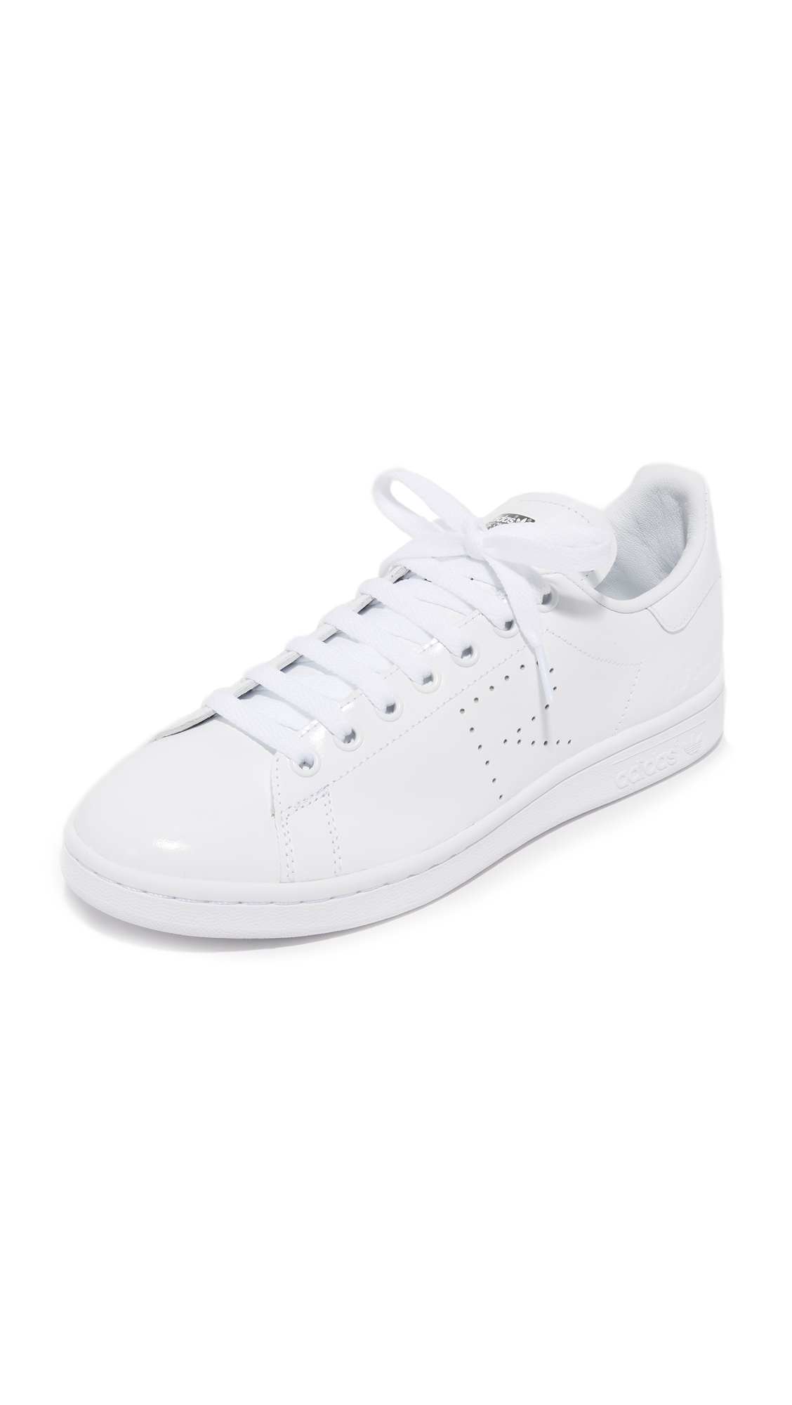 Adidas Raf Simons Stan Smith Sneakers - White/Black/White at Shopbop