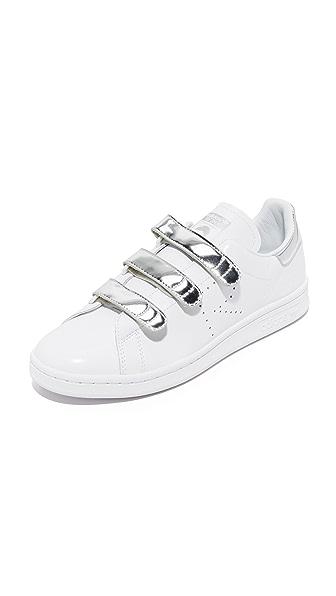 Adidas Raf Simons Stan Smith Sneakers - White/Silver Met/White at Shopbop