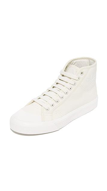 Adidas x Raf Simmons Spirit High Top Sneakers