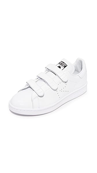 Adidas x Raf Simmons Stan Smith Comfort Sneakers - White/White/Black