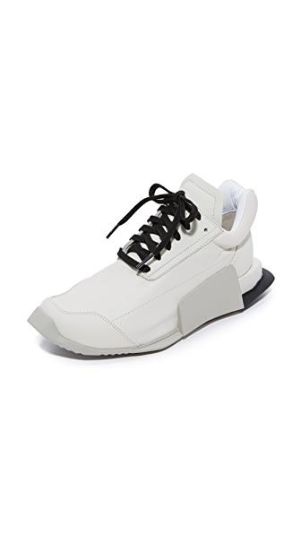 Adidas Adidas x Rick Owens Level Low Runners - Milk/Dinge/Black