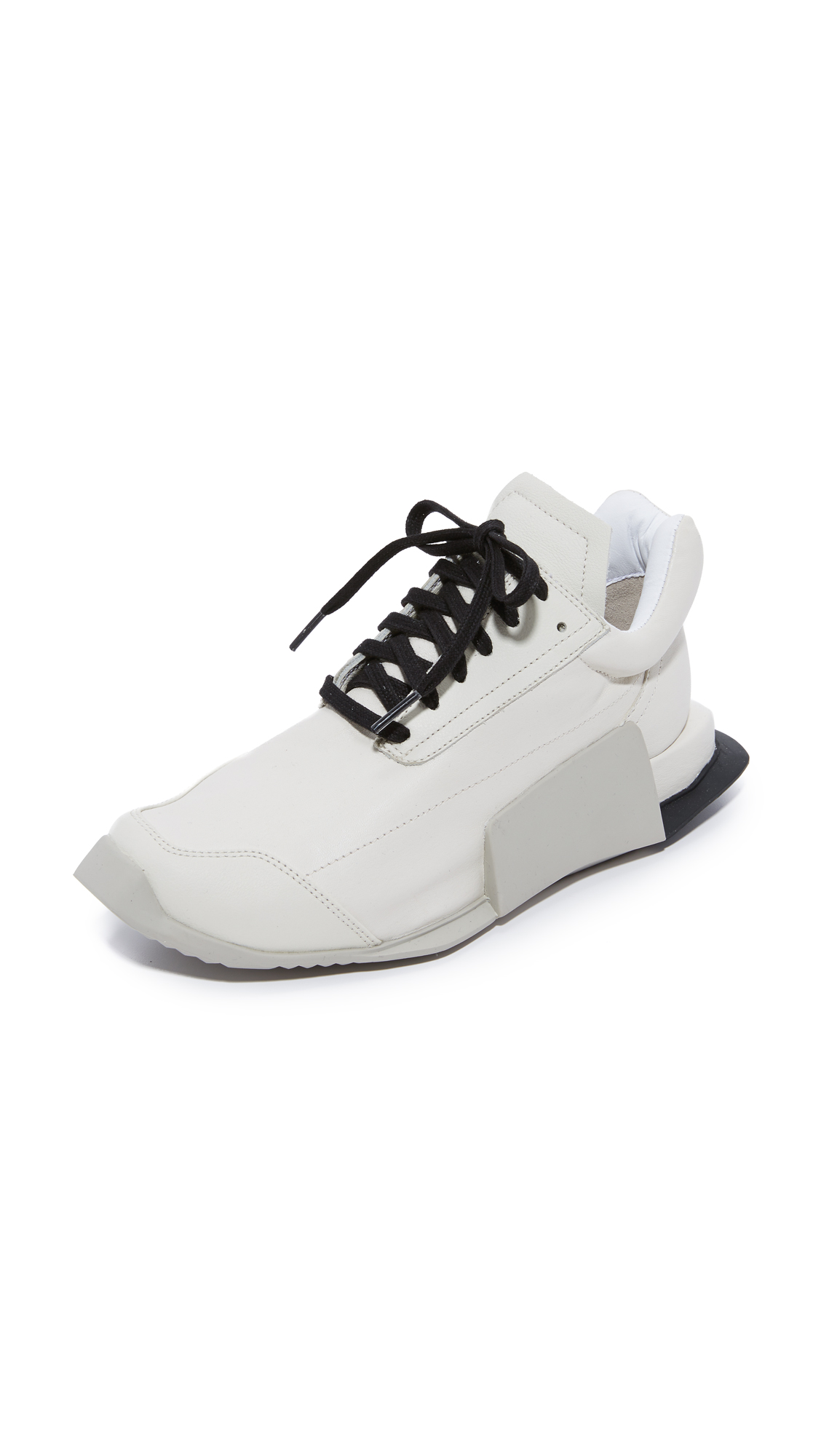 Photo of Adidas Adidas X Rick Owens Level Low Runners Milk-Dinge-Black - Adidas online