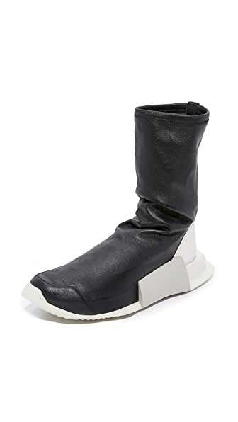 Adidas Adidas x Rick Owens Level High Runners - Black/Milk/Dinge