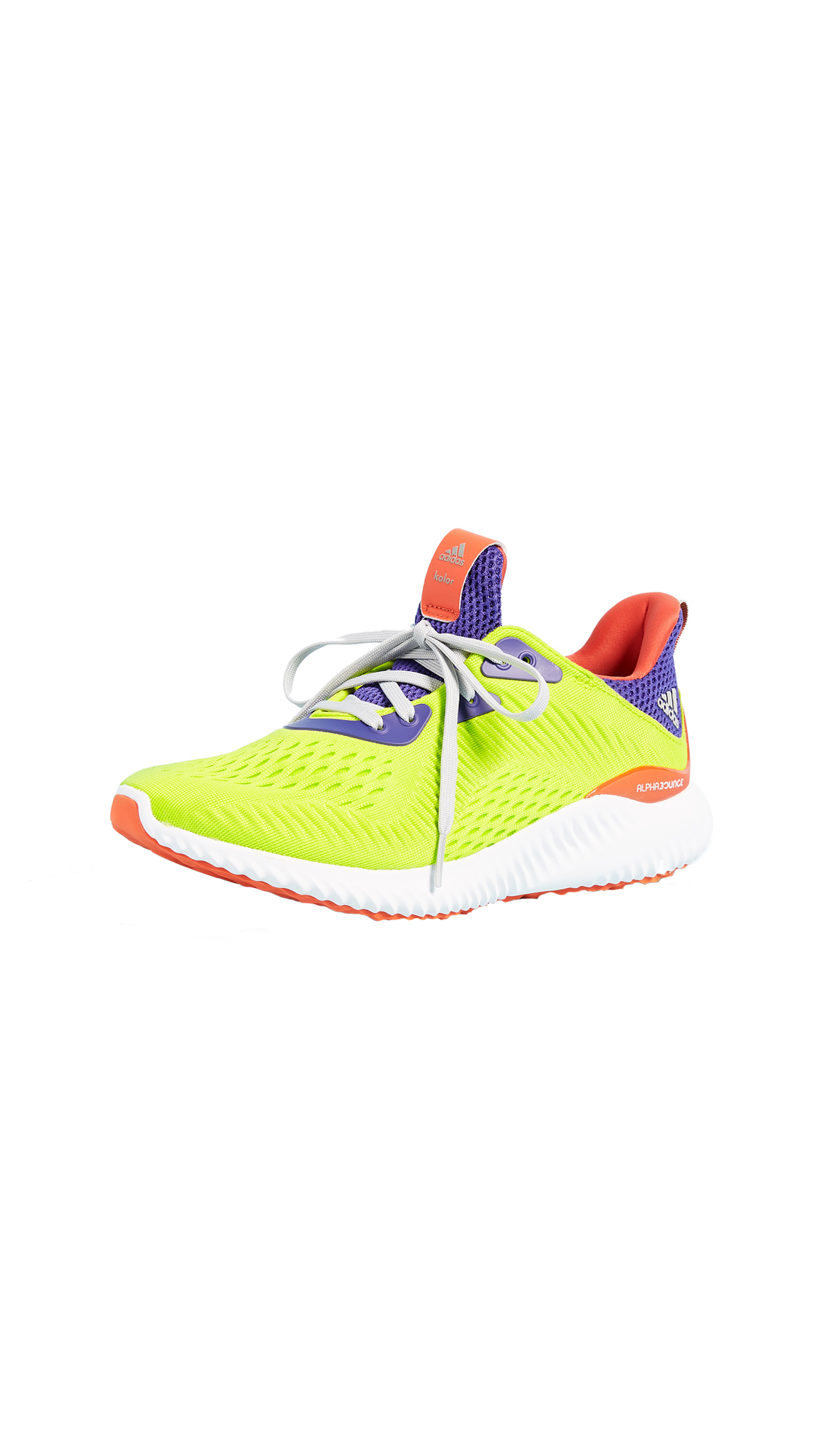 Adidas Alphabounce KOLOR Sneakers - Energy/Energy Ink/Yellow