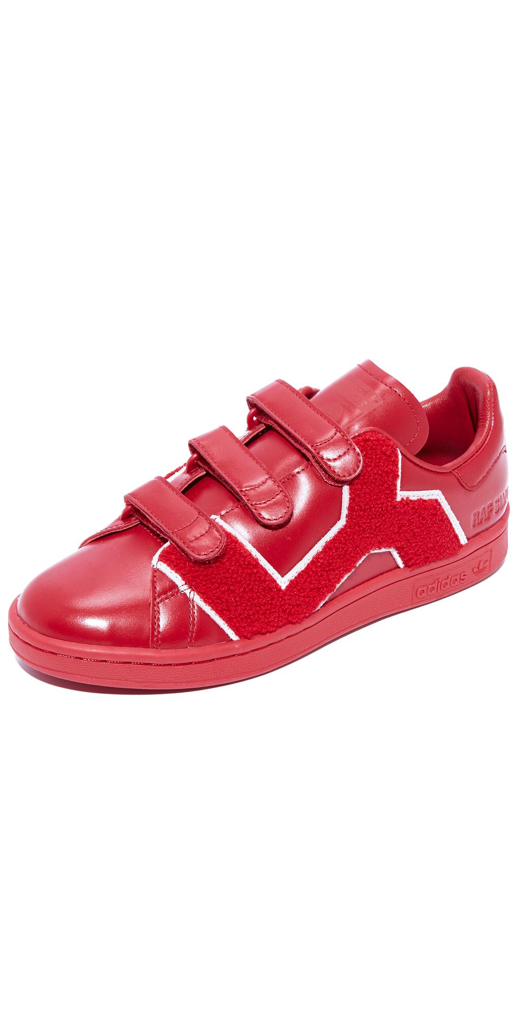 Raf Simons Stan Smith Comfort Badge Sneakers Adidas