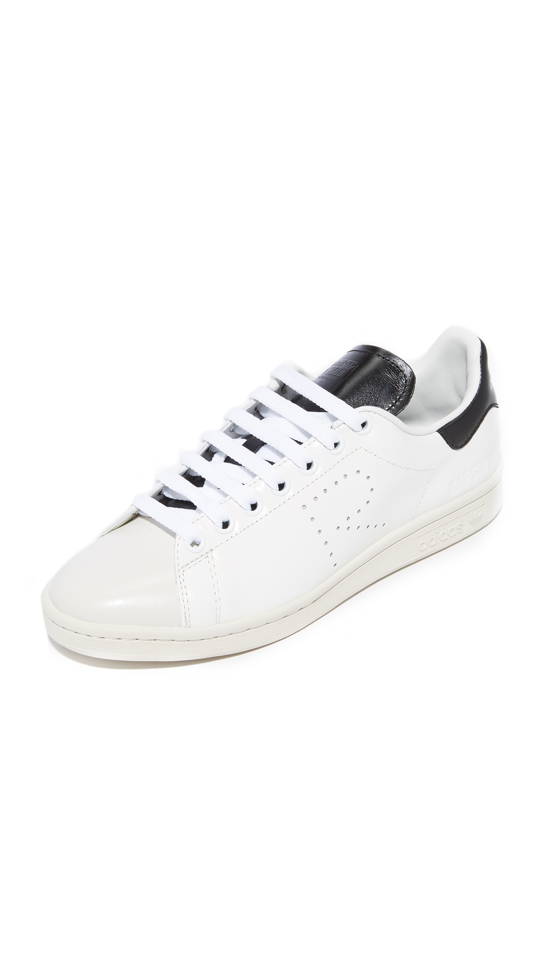 Adidas Raf Simons Stan Smith Sneakers - Optic White/Black/Talc