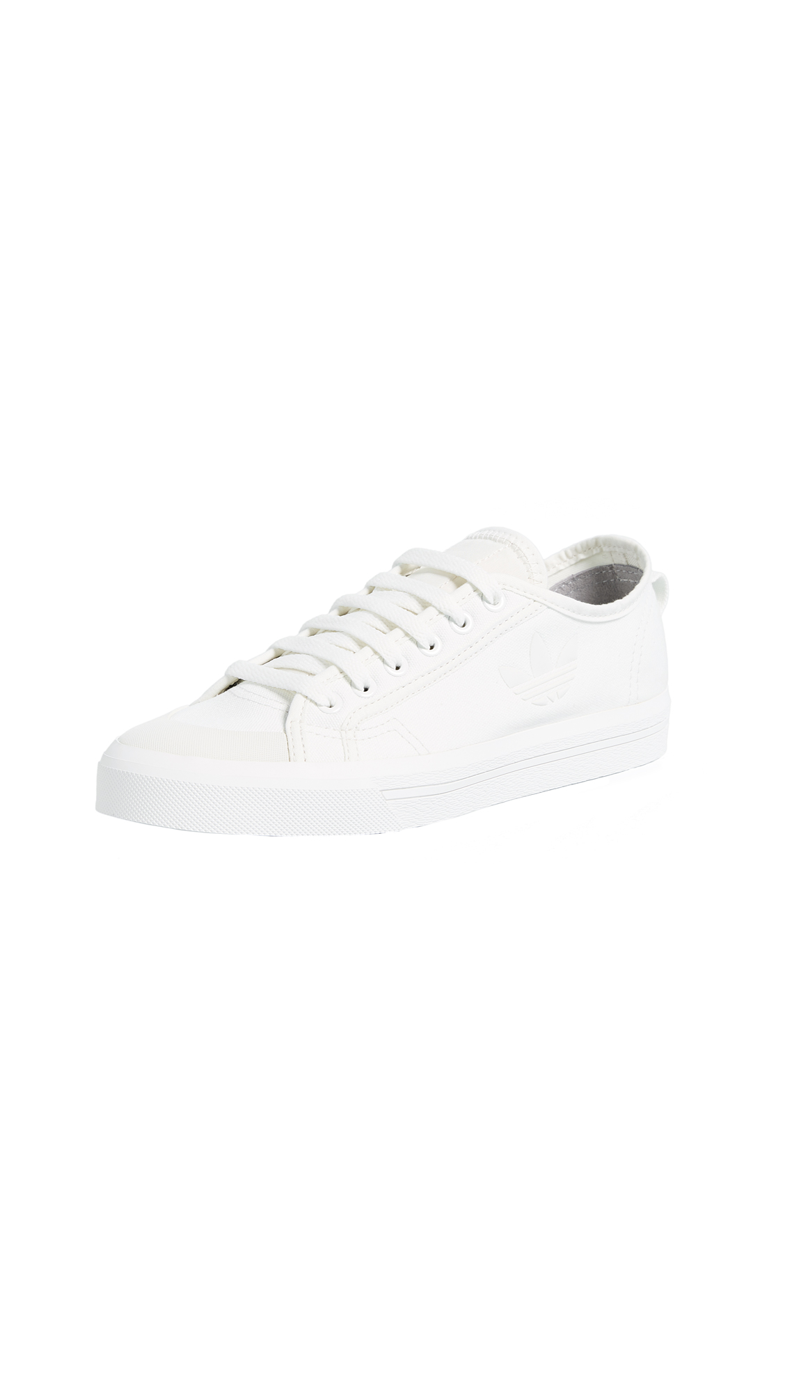 Adidas Raf Simons Stan Smith Spirit Low Sneakers - Optic White/Optic White