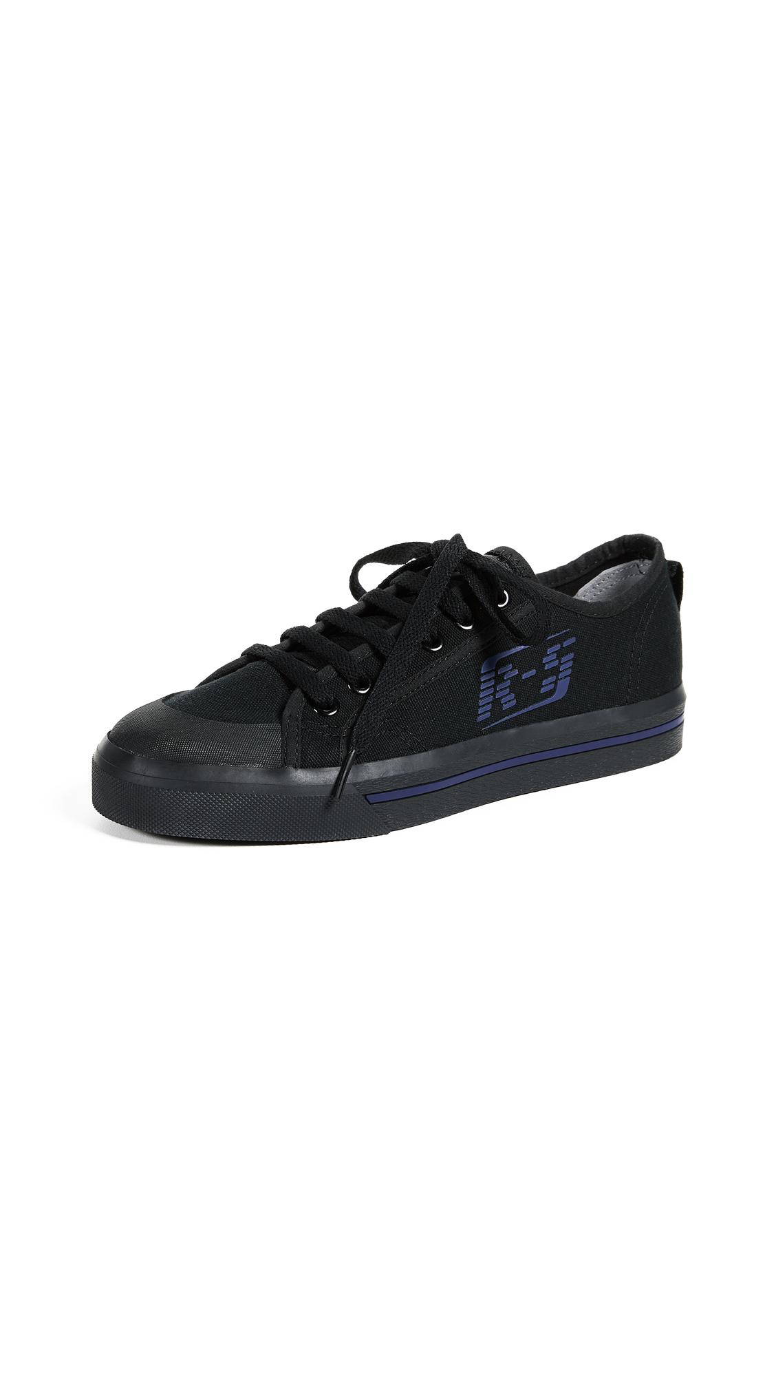 Adidas Raf Simons Spirit Low Sneakers - Black/Night Sky