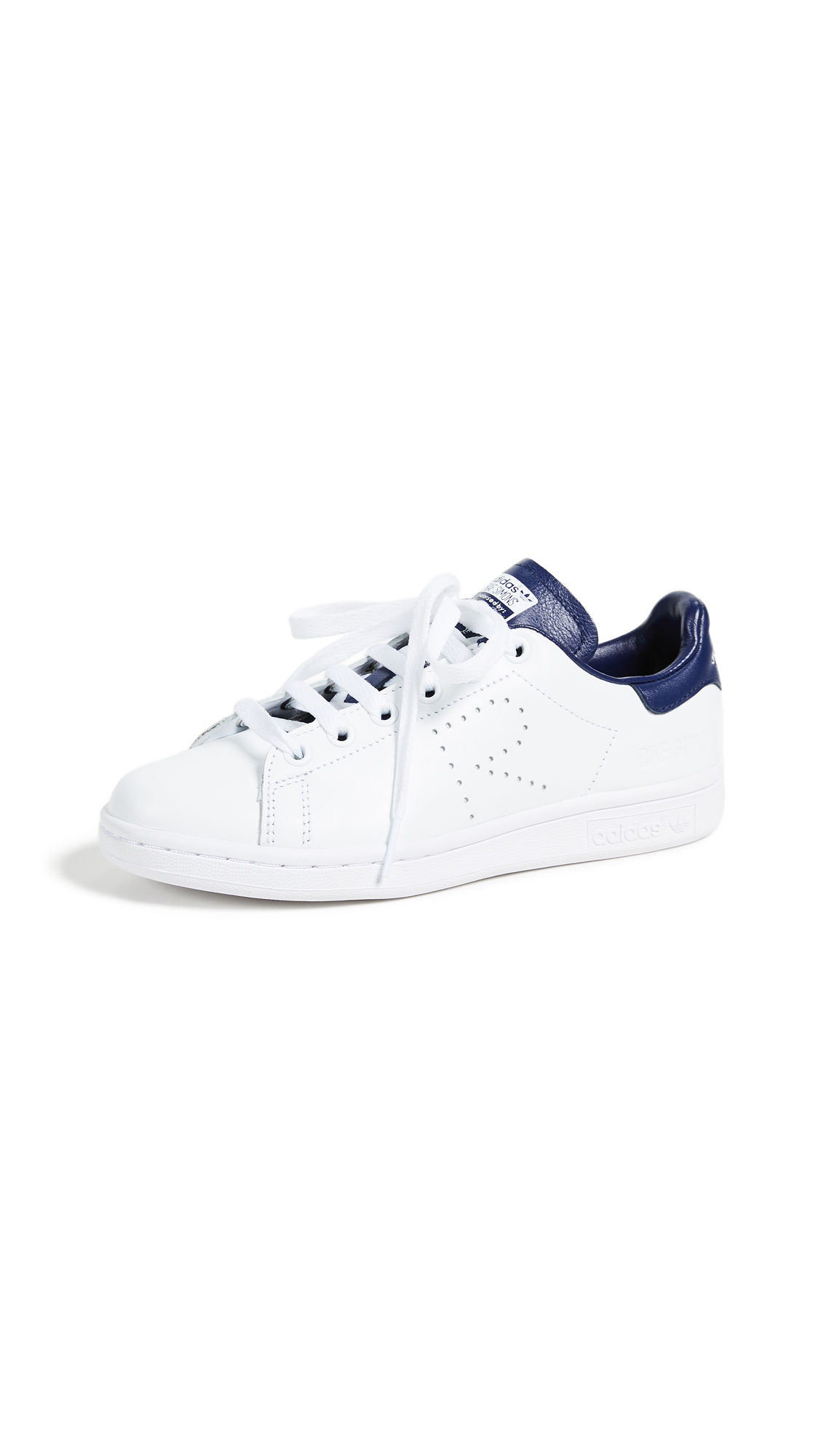 Adidas Raf Simons Stan Smith Sneakers - White/Night Sky/White