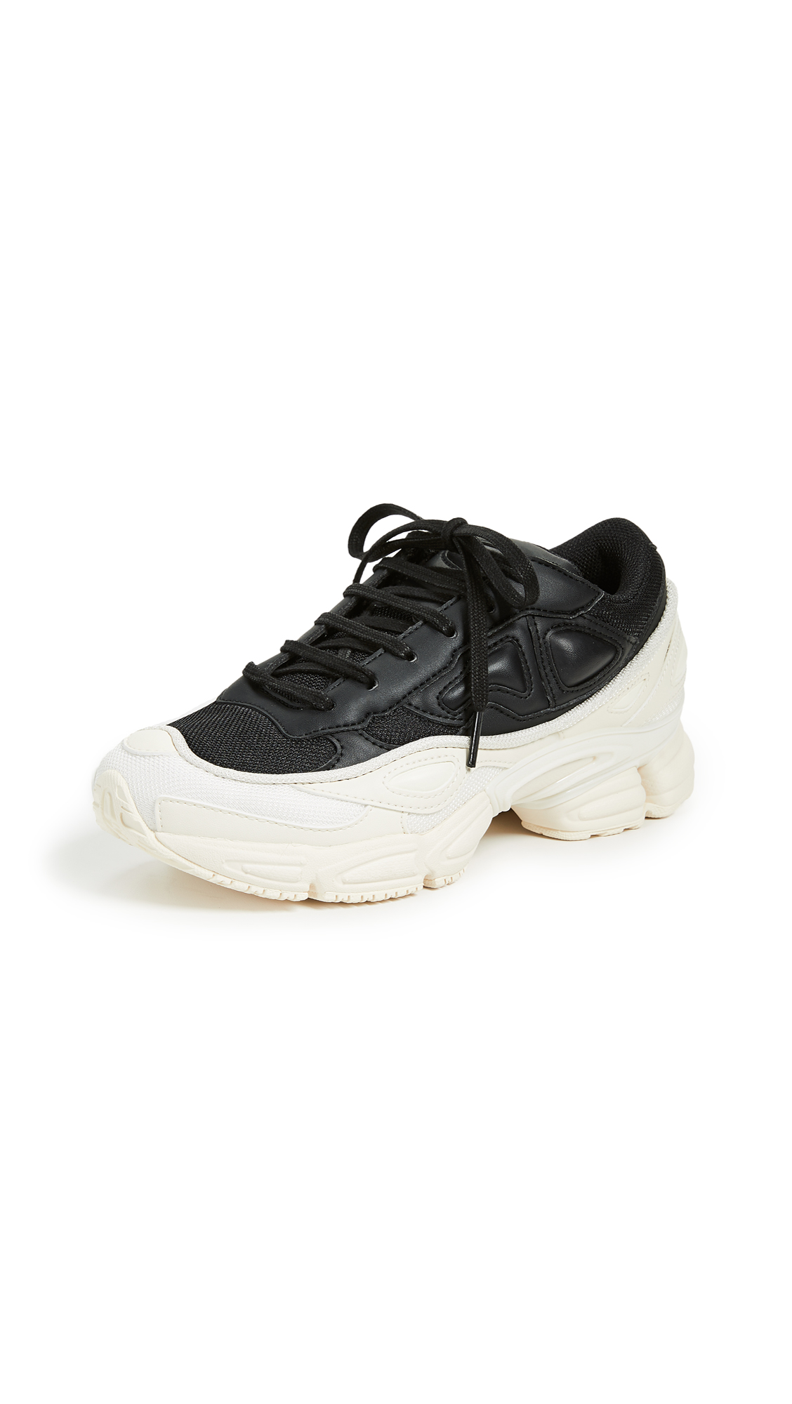 Adidas Raf Simons Ozweego Sneakers - Cream White/Core Black