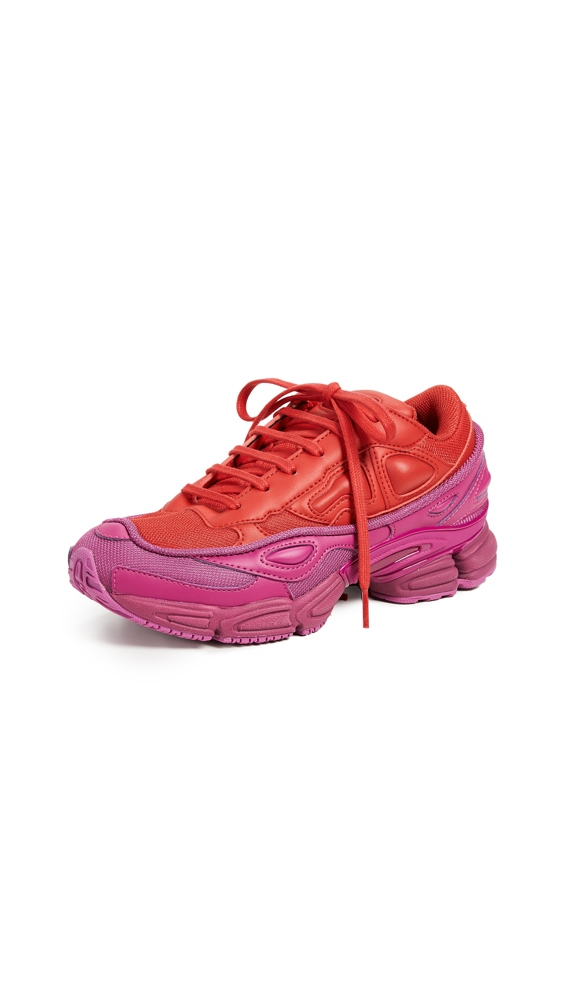 Adidas Raf Simons Ozweego Sneakers - Glory/Collegiate Red