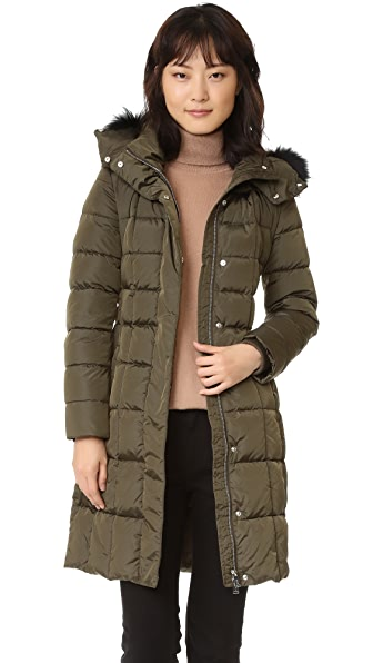 Add Down Down Coat - Mud at Shopbop