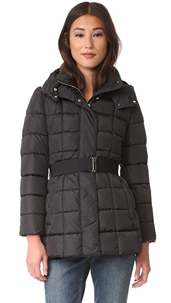 Add Down Belted Down Jacket - Black at Shopbop