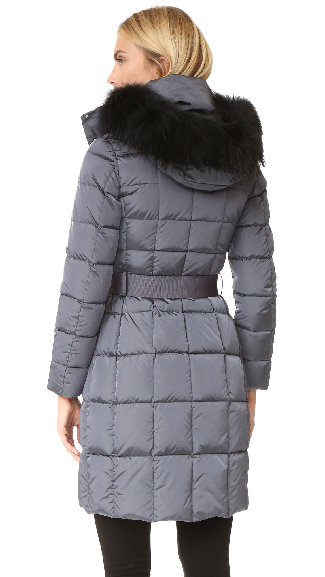 42e8fef855978 Add Down Belted Down Coat with Fur | SHOPBOP