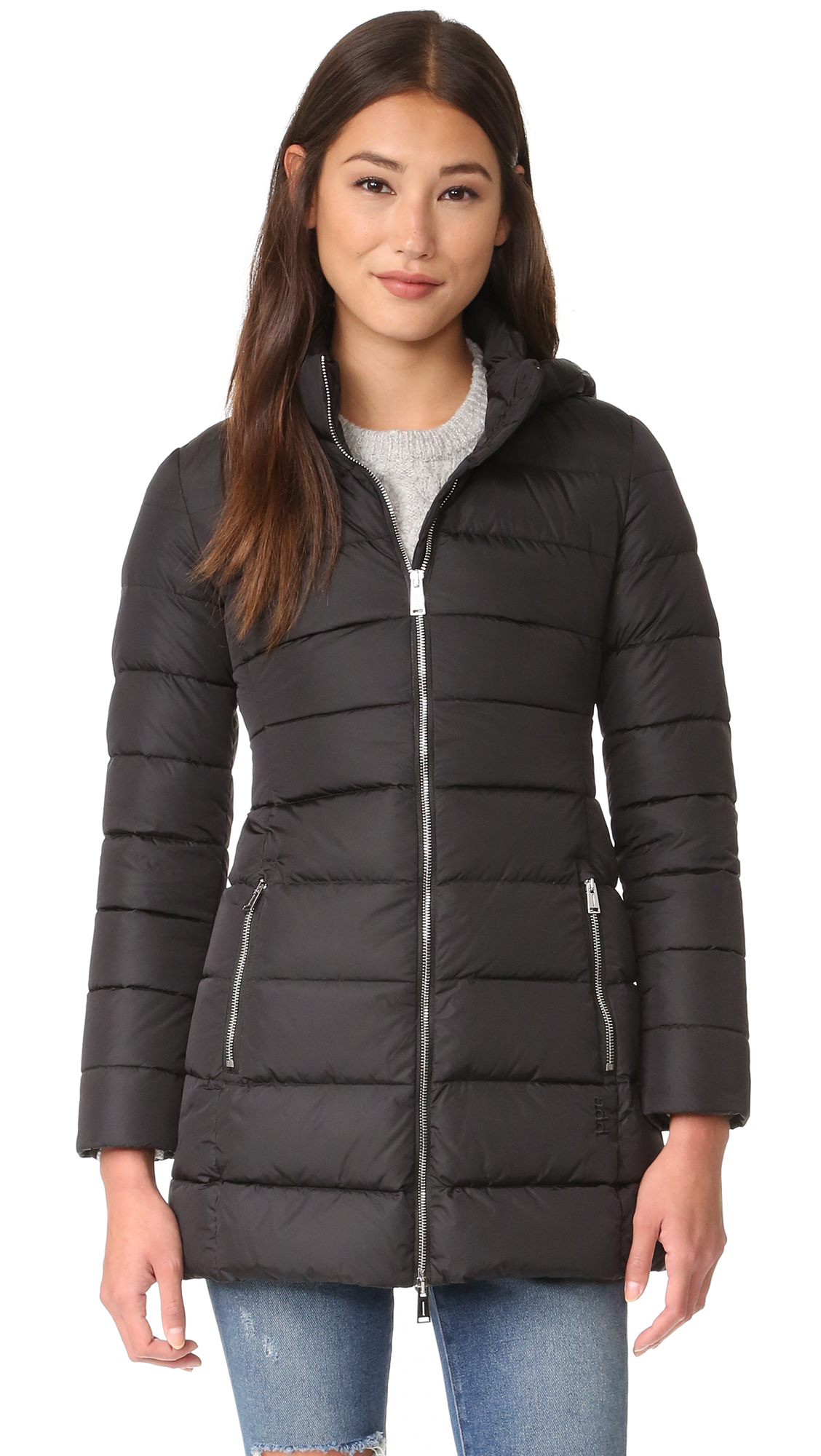 Add Down Down Coat - Black at Shopbop