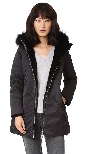 Add Down Down Parka with Fur