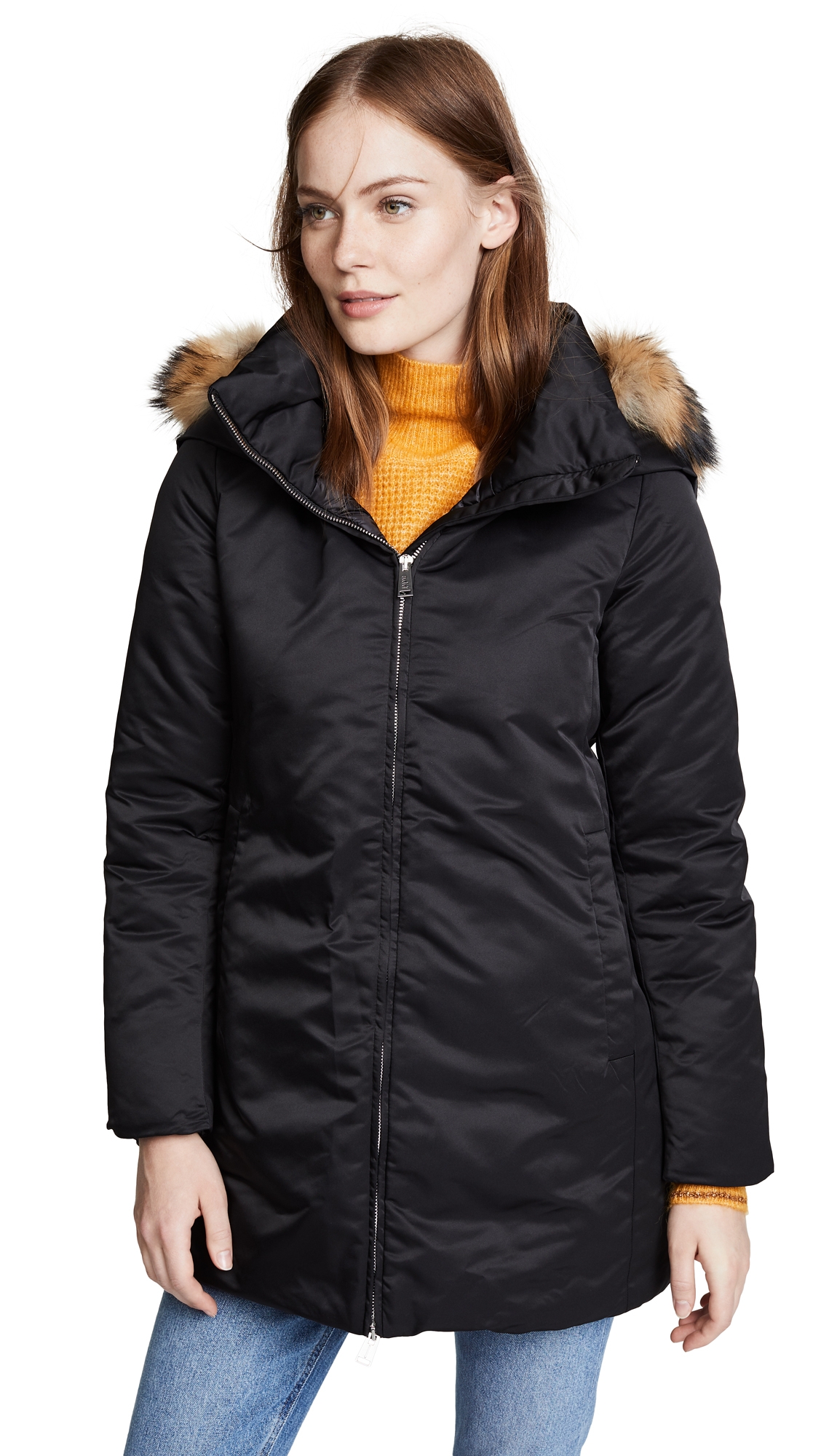 ADD Down Parka in Black
