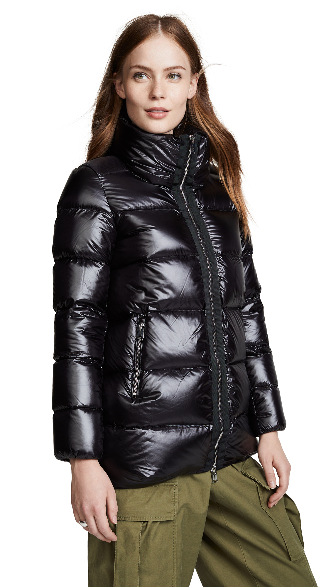 ADD Down Jacket in Black