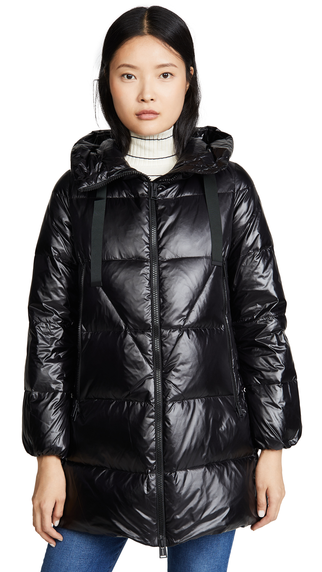 Buy Add Down online - photo of Add Down Hooded Down Jacket
