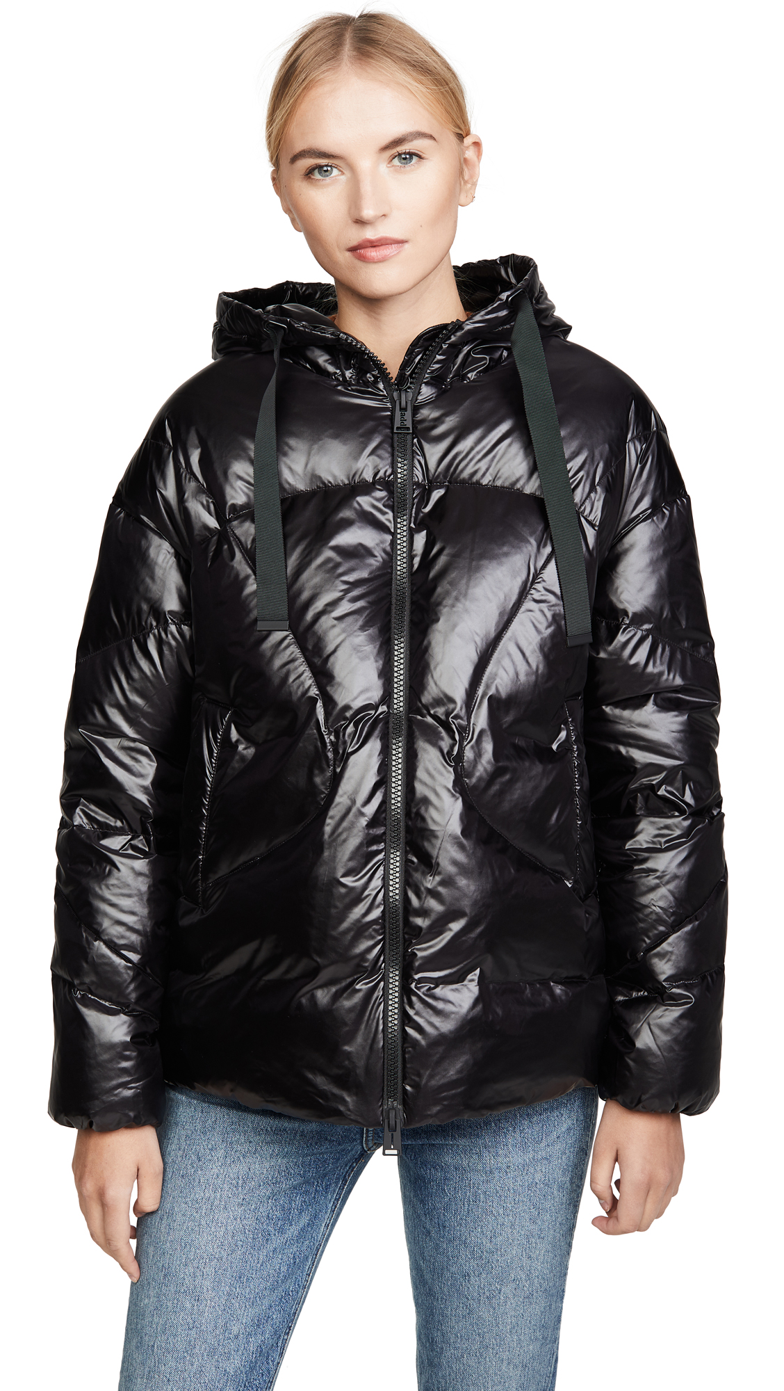 Buy Add Down online - photo of Add Down Oversized Hooded Down Jacket