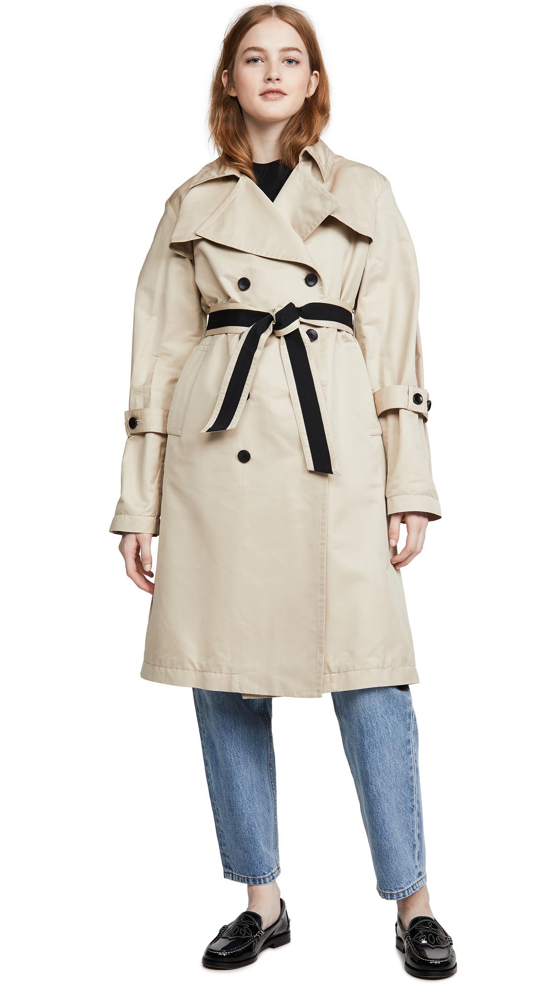 Buy Add Down Oversized Trench Coat online beautiful Add Down Jackets, Coats, Trench Coats