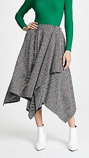 Adeam 方巾式半身裙