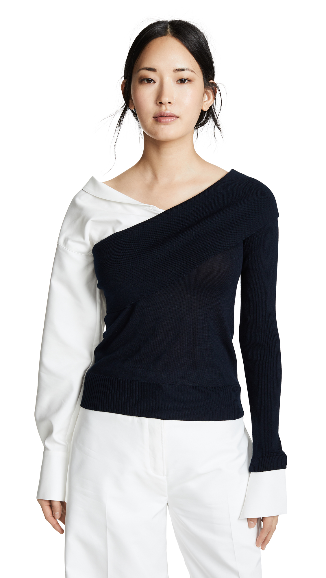 Adeam TWO WAY KNIT TOP
