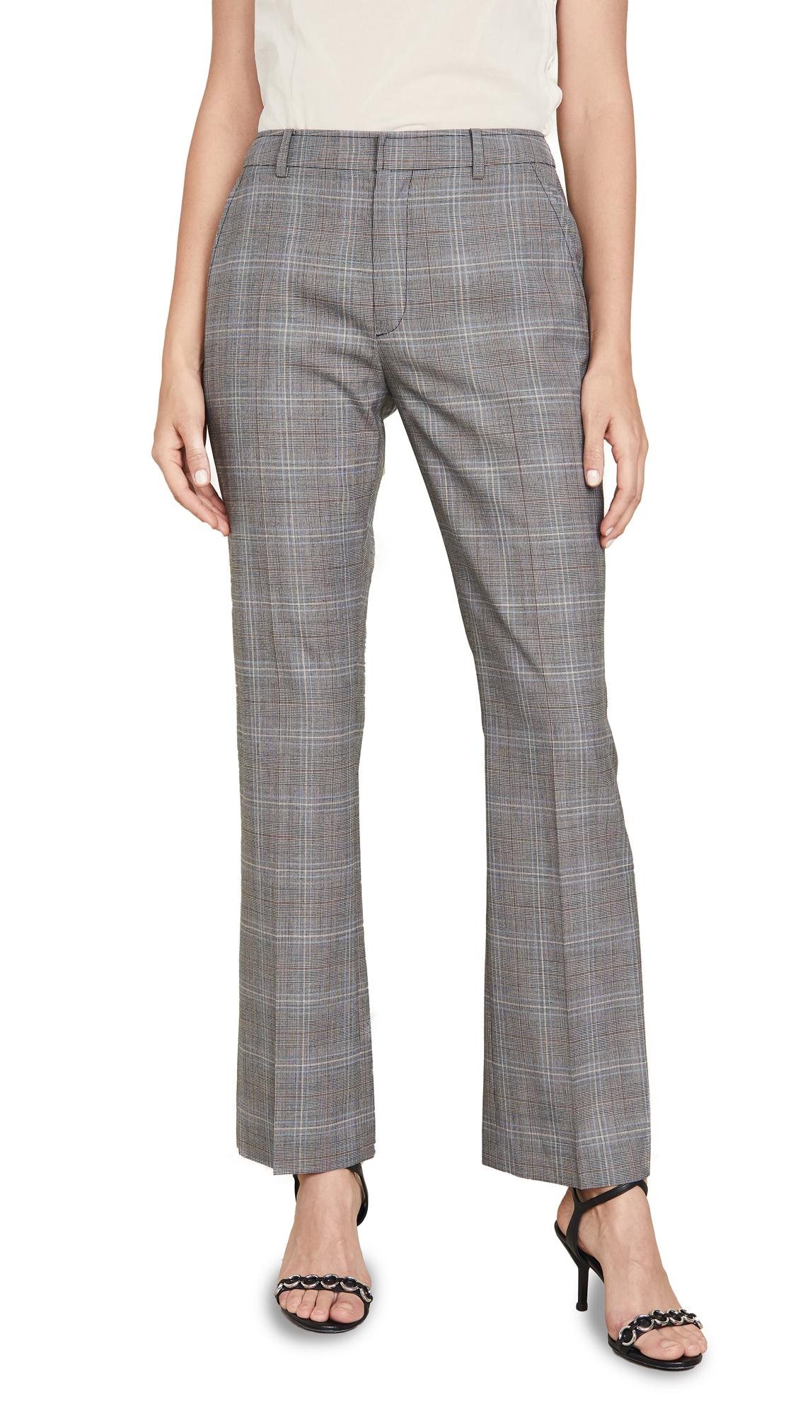 Adeam Tailored Cigarette Pants - Slate