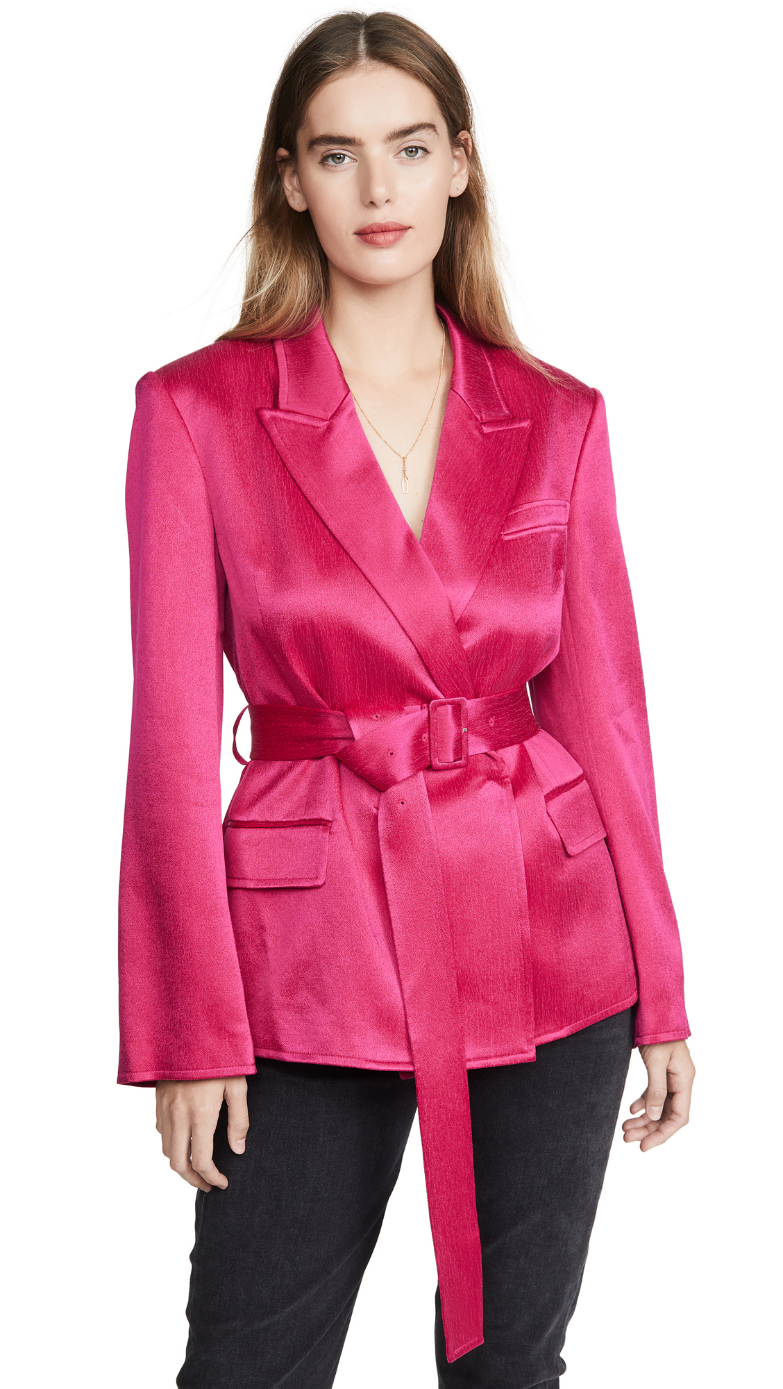 Buy Adeam online - photo of Adeam Belted Tailored Jacket