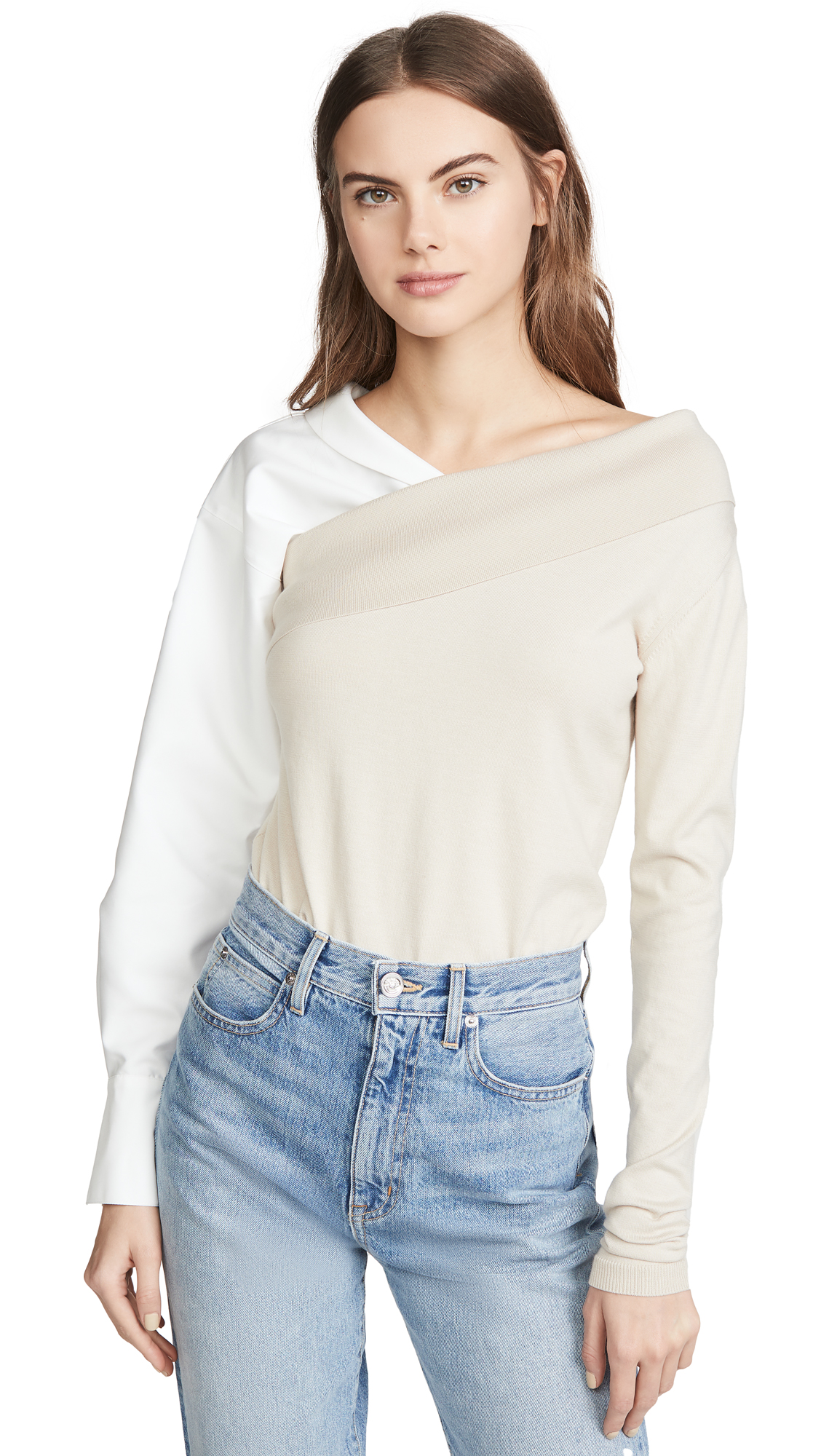 Photo of Adeam Two Way Knit Top - shop Adeam Tops, Blouses online